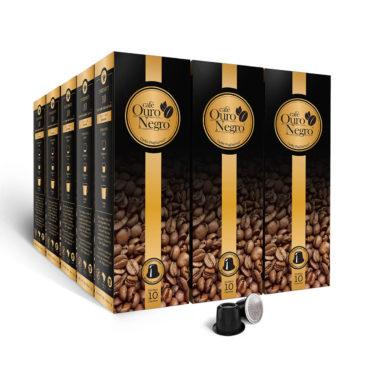 Café Ouro Negro<br>para Nespresso<br>Kit 150 Cápsulas