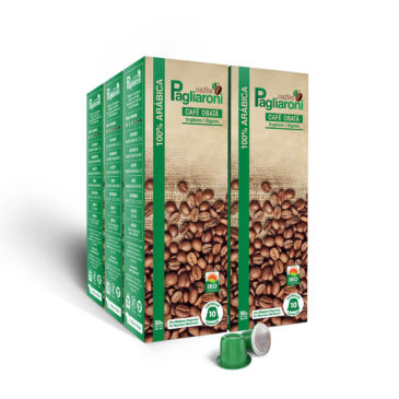 Cafés Pagliaroni<br>Obatã Orgânico para Nespresso<br>Kit 50 Cápsulas
