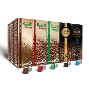 Cafés Pagliaroni Variedades Nespresso 150 Cápsulas