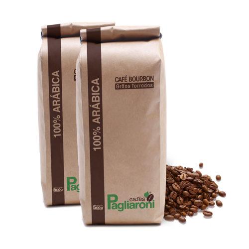 Cafe Torrado em Grãos 2 unidades 500g