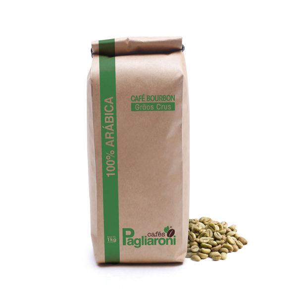 Café em grãos para torra 1kg