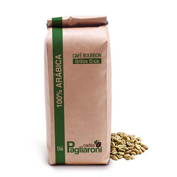 Café Especial em grãos crus
