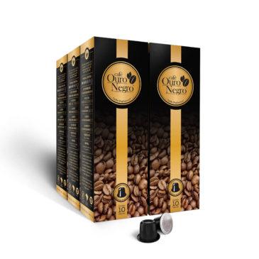 Café Ouro Negro<br>para Nespresso<br>Kit 50 Cápsulas