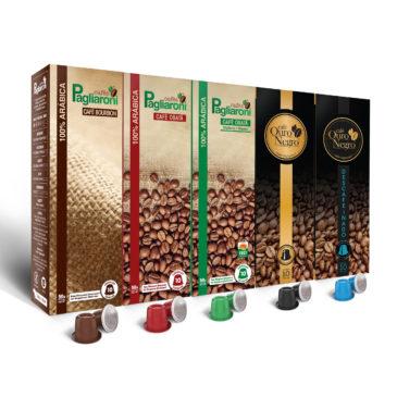 Cafés Pagliaroni <br>Variedades Nespresso <br>50 Cápsulas
