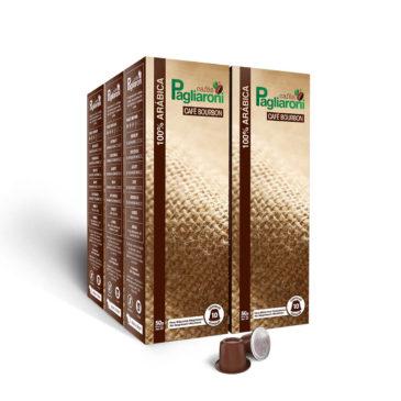 Cafés Pagliaroni Bourbon para Nespresso Kit 50 Cápsulas