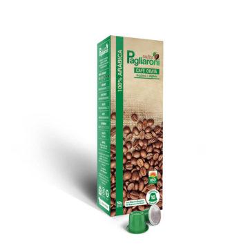 Cafés Pagliaroni<br>Obatã Orgânico para Nespresso<br>10 Cápsulas