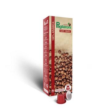 Cafés Pagliaroni<br>Obatã Vermelho para Nespresso<br>10 Cápsulas