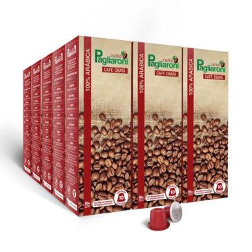 Cafés Pagliaroni<br>Obatã Vermelho para Nespresso<br>Kit 150 Cápsulas