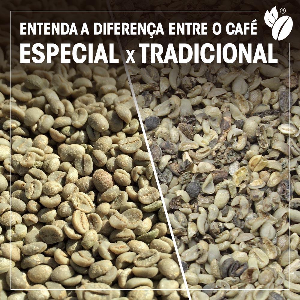 Diferenca cafe especial cafe tradicional